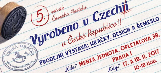 Dne 17. a 18. listopadu proběhne již 5. ročník českého fortelu!